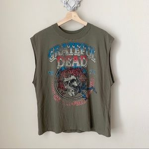 NWT Junk Food Grateful Dead band tee/ tank